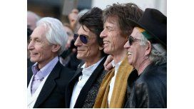 Charlie Watts, Roon Wood, Mick Jagger y Keith Richards