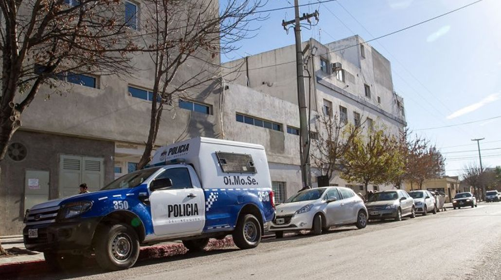 El policía quedó internado y está fuera de peligro
