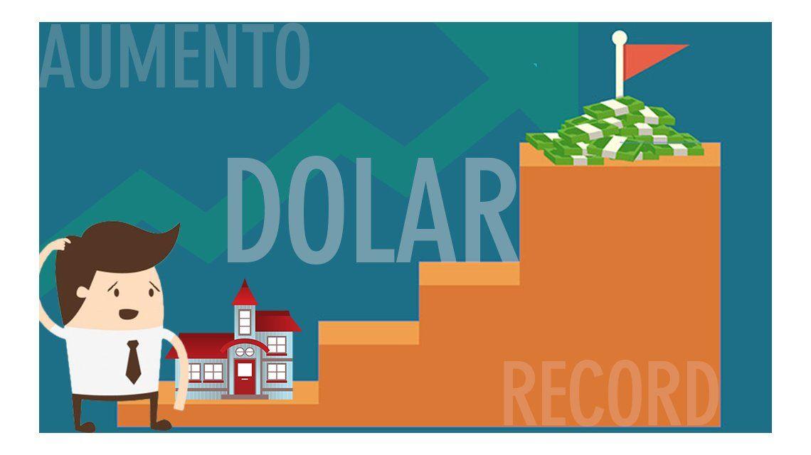 La suba del dólar complica a los tomadores de crédito hipotecario