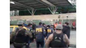 Expulsion de John Paul Revilla Estrada en Ezeiza