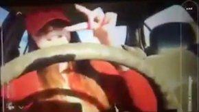 Trasmitió en vivo el accidente vial en el que mató a su hermana