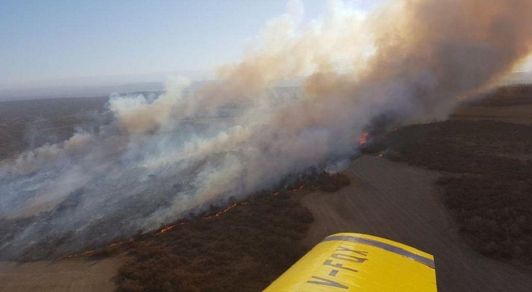 Quiso hacer un asado y quemó 100 hectáreas en Córdoba - Crédito:@MinGobCba