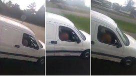 Camioneros filman a una pareja teniendo sexo en el auto en plena ruta
