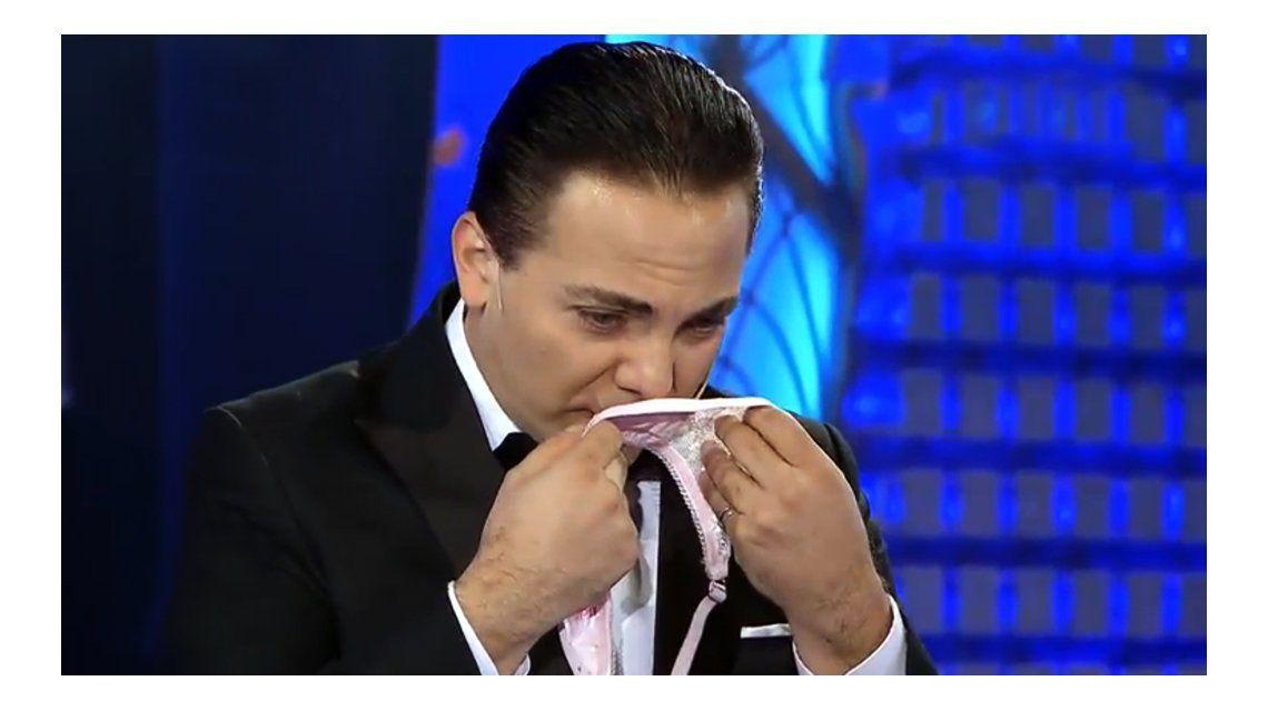 Cristian Castro en lo de Susana