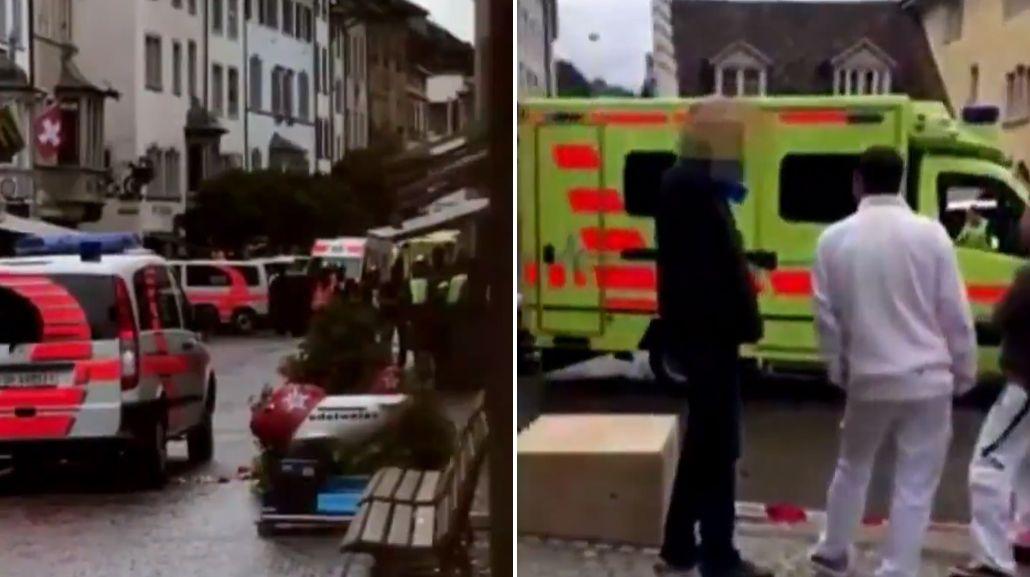 Suiza: un hombre armado con una motosierra hirió a cinco personas