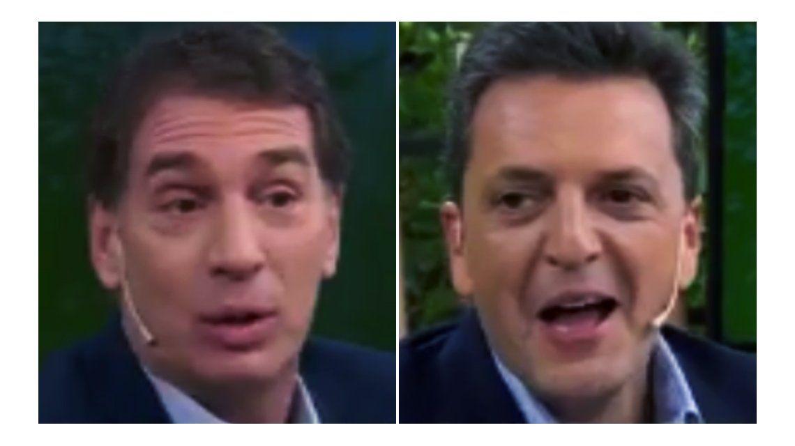 VIDEO: El cruce entre Massa y Santilli por la coherencia de Carrió