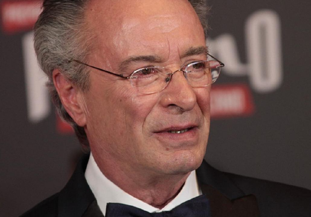 Oscar Martínez recibió el premio a mejor actor en los premios Platino.