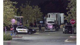 Diez muertos en la parte trasera de un camión