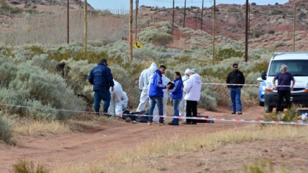 Asesinaron y quemaron a una embarazada - Crédito: Miguel Huentecol