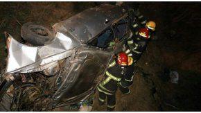 Grave accidente de tránsito de ocho jóvenes en Córdoba - Crédito: lavozdelinterior.com.ar