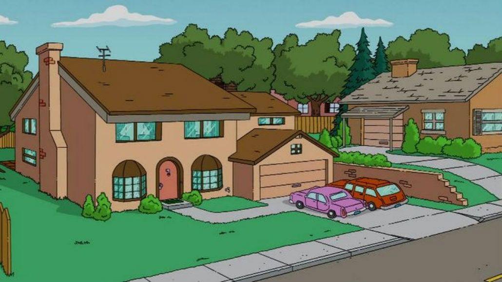 La casa más reconocible de Springfield tiene su sede en Uruguay