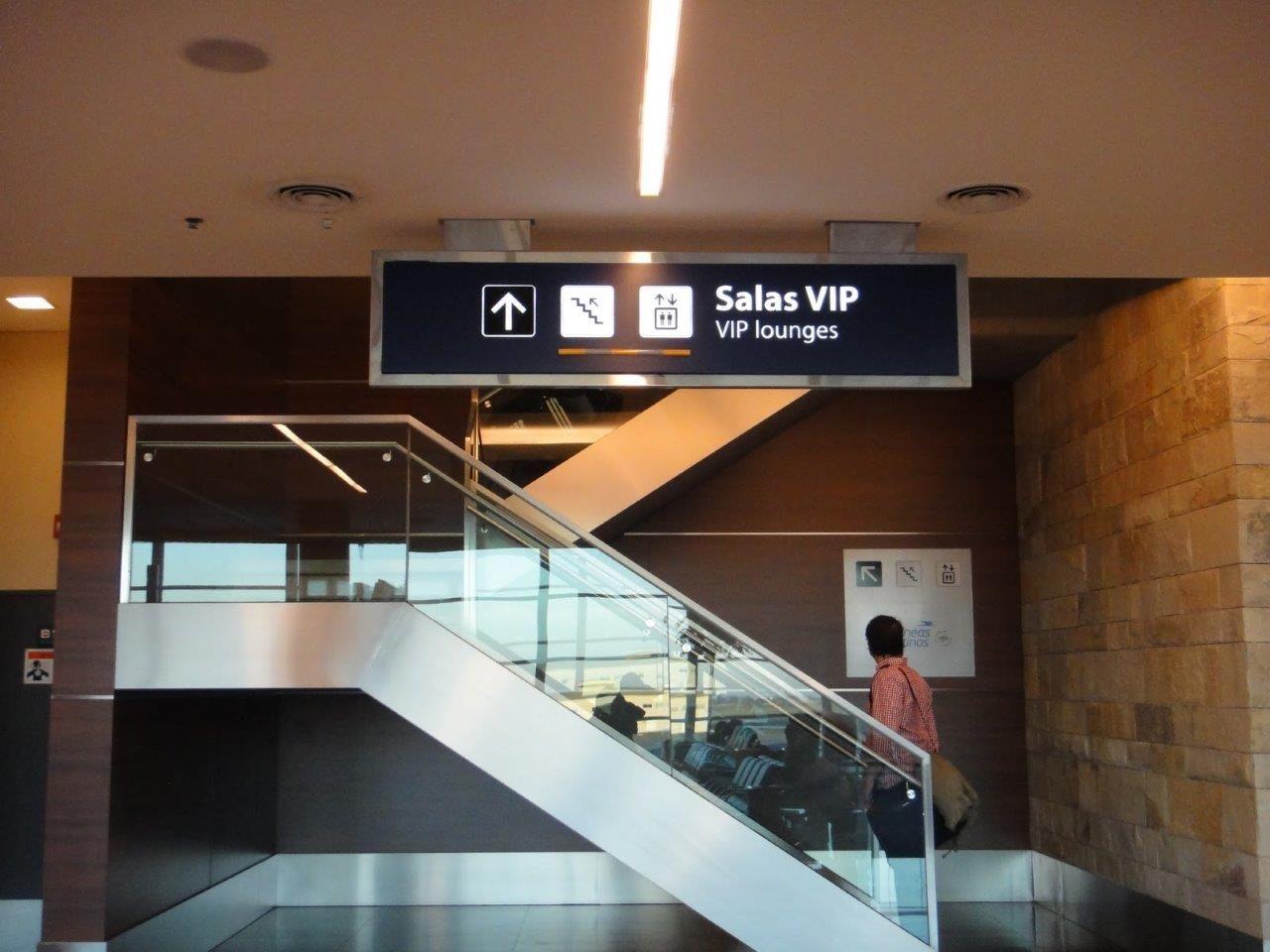 Así es el acceso a las Salas VIP de Ezeiza