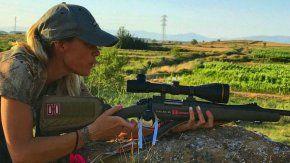 La cazadora se suicidó tras sufrir un acoso constante