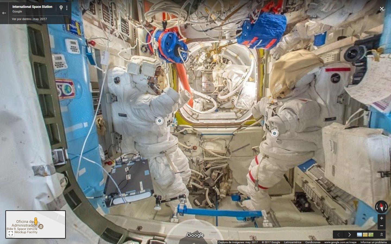 Ya podés visitar la Estación Espacial Internacional con Street View