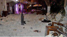 Un fuerte sismo sacudió a Grecia y Turquía