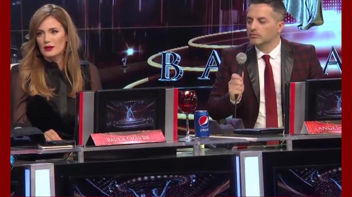 Paula Chaves debutó como jurado del Bailando