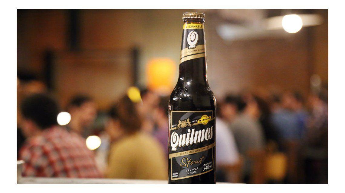 Quilmes presentó el porrón y la lata que equivale a un chop