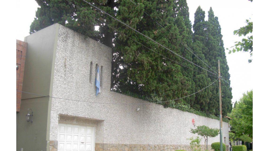 La mansión de Sandro era un refugio antibombas