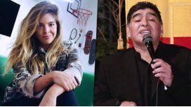 Dalma Maradona explicó que Diego balbucea por el alcohol porque toma pastillas para dormir
