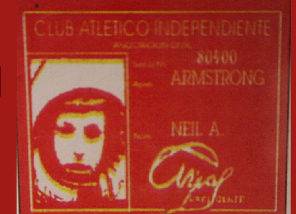 El carnet de Armstrong