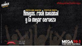 Isenbeck Rock N Chop y Mega 98.3 te invitan a festejar el Día del Amigo