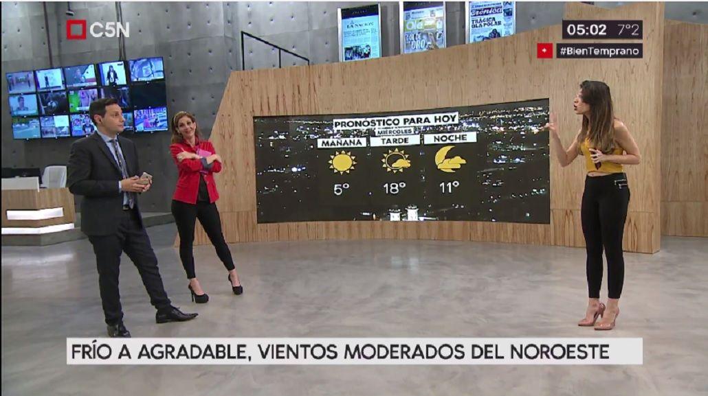 Pronóstico del tiempo para el miércoles 19 de julio de 2017
