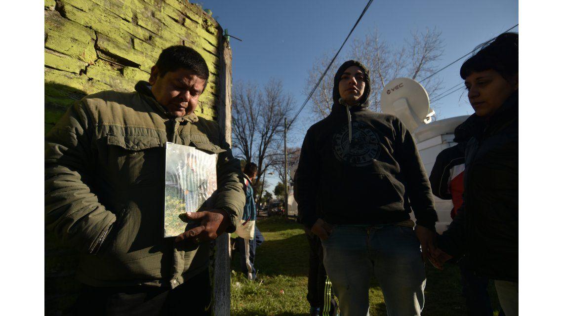 El papá de Rodrigo Correa reclama justicia.