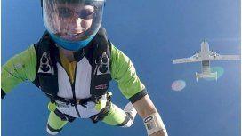 Un paracaidista se suicidó y le avisó a su mujer a través de un video