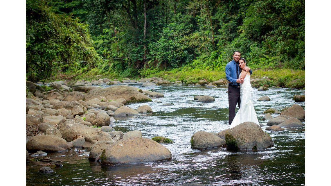 Cada vez más parejas eligen la selva como escenario para su boda