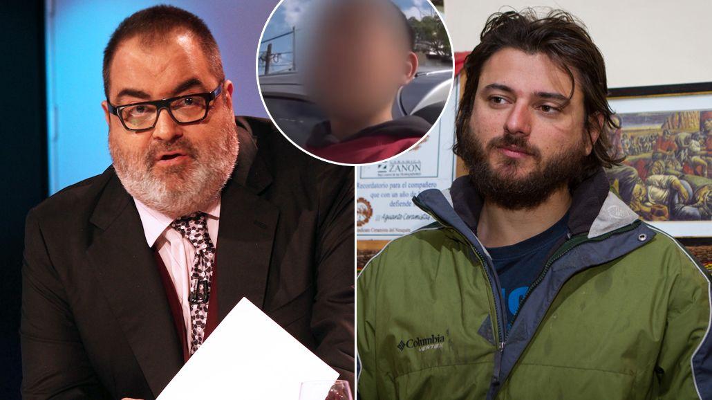 Duro enfrentamiento entre Jorge Lanata y Juan Grabois