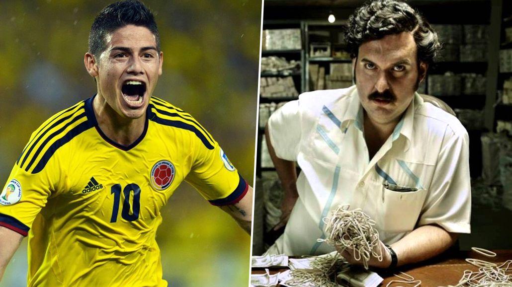 Un narco le habría pagado a James un tratamiento como el de Messi