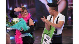 Feliz, Beatriz Prandi termina su participación en Bailando