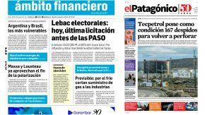 Tapas de diarios del martes 18 de julio de 2017