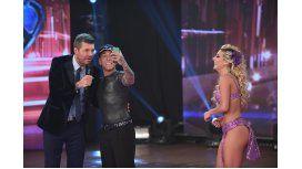 Brian Sarmiento se saca una selfie con Marcelo Tinelli