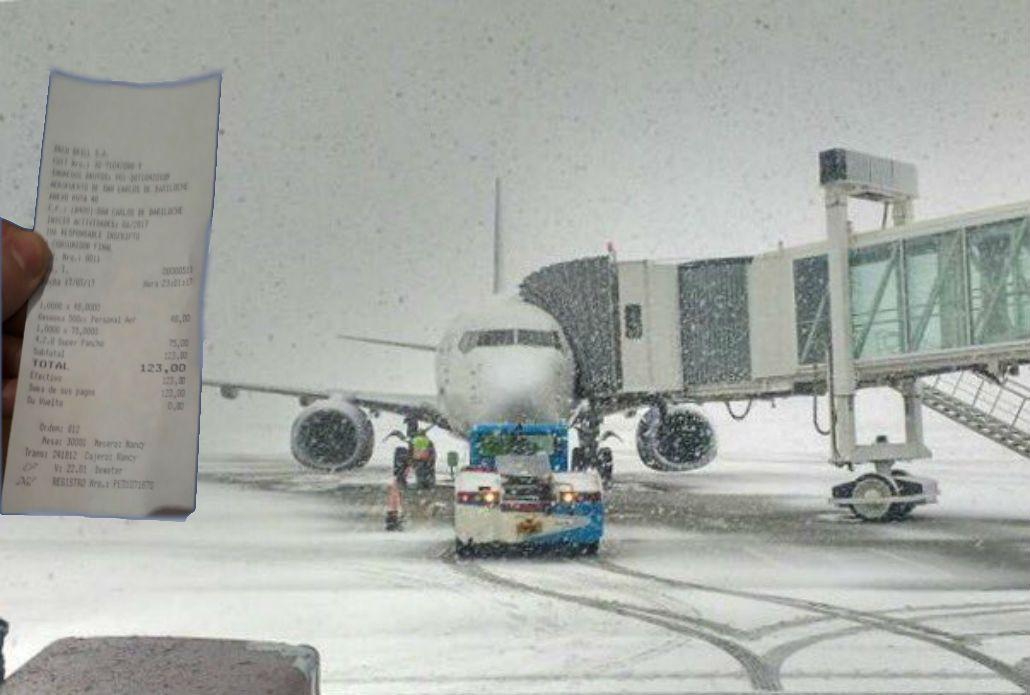 Demoras y cancelaciones en el aeropuerto de Bariloche y abusos en los precios