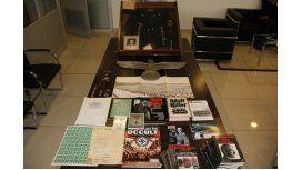 Secuestraron objetos nazis y armas en Caballito - Crédito:misionesonline.net