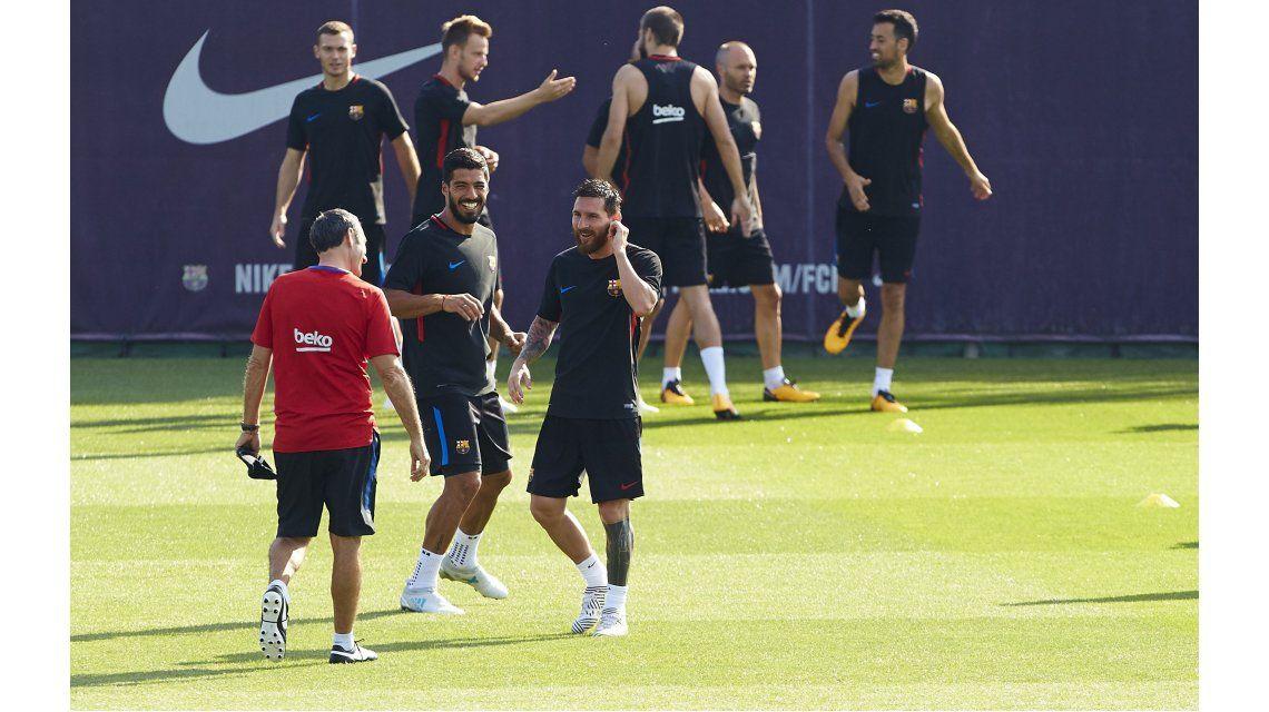 Valverde habló del rol de Messi en Barcelona
