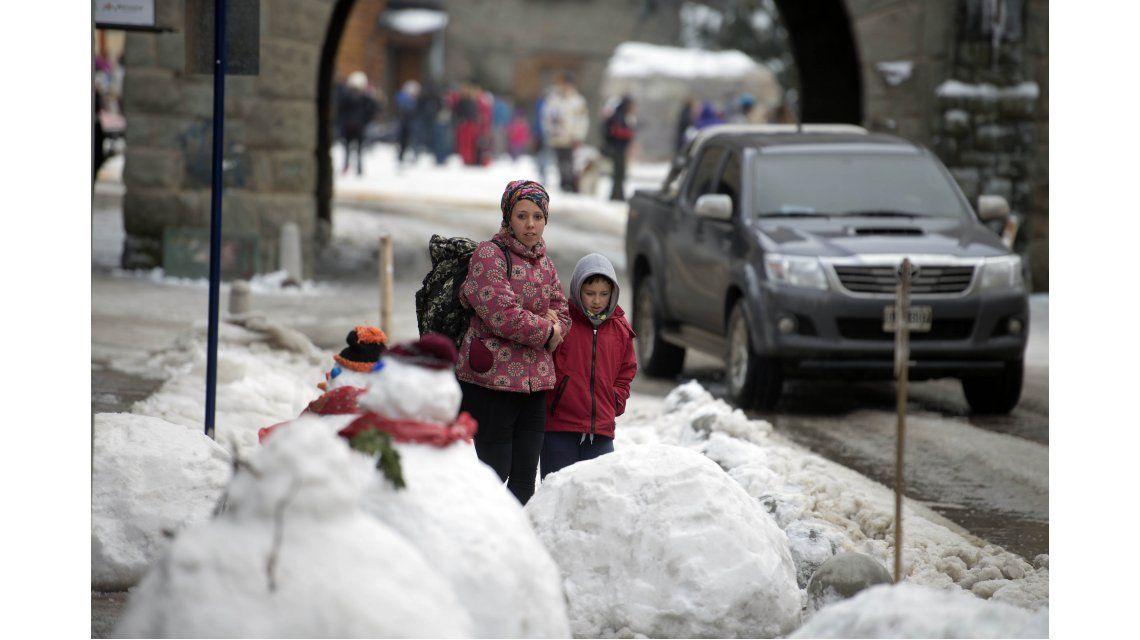 Ola polar en Bariloche