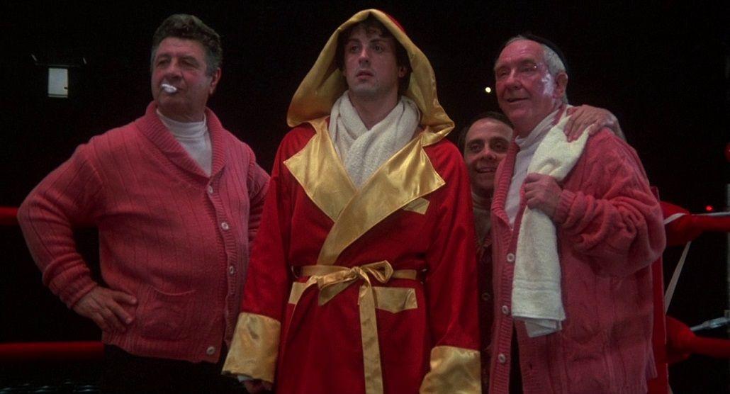 Sylvester Stallone reveló una escena inédita de Rocky