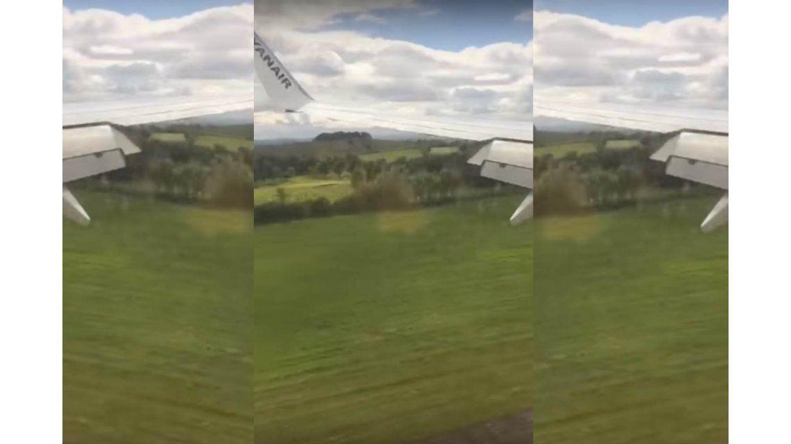 Pánico en un vuelo de España por un aterrizaje forzoso