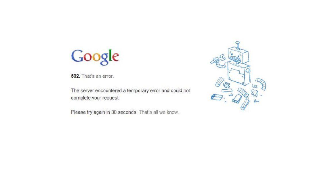 ¿Qué pasaría si se cae Google?