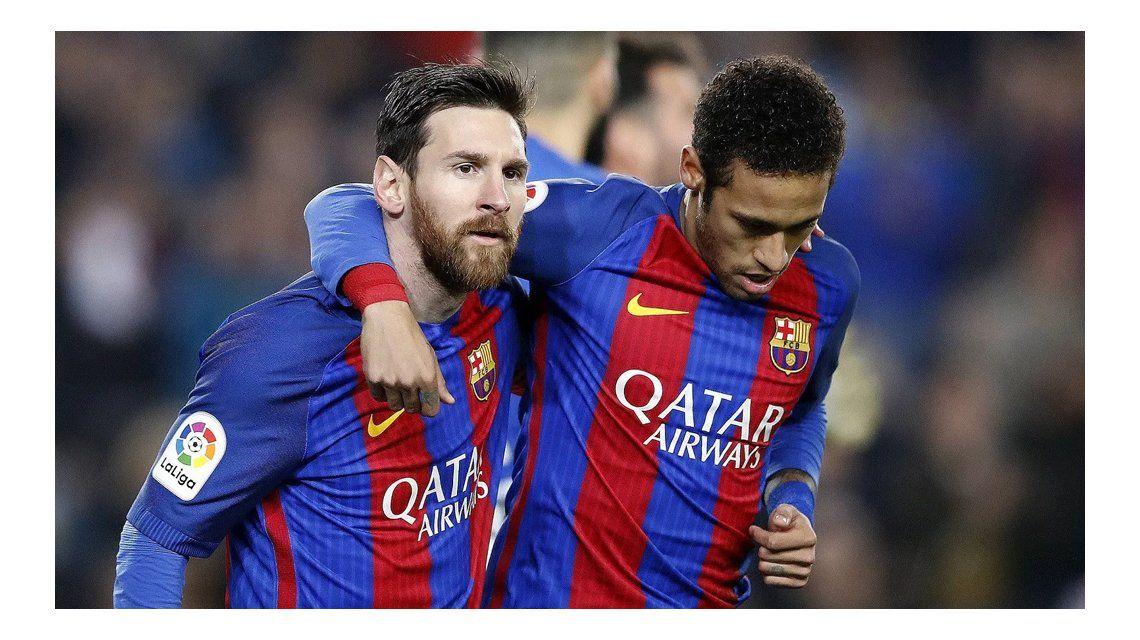 Cansado de ser la sombra de Messi, Neymar querría dejar el Barcelona