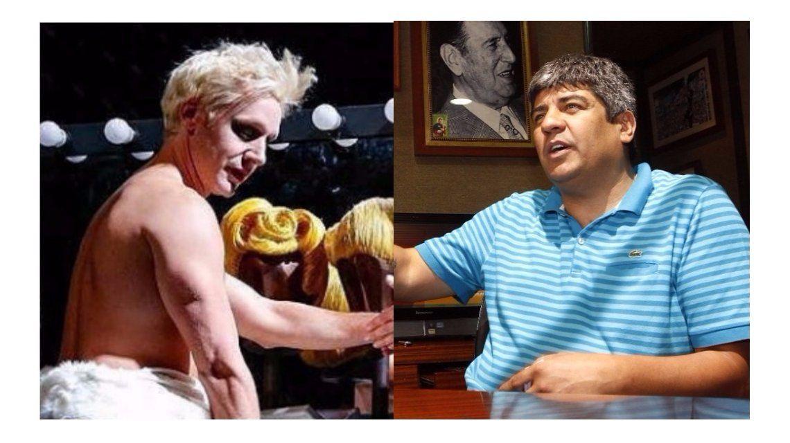 Benjamín Vicuña le respondió a Pablo Moyano, que criticó su versión de Evita