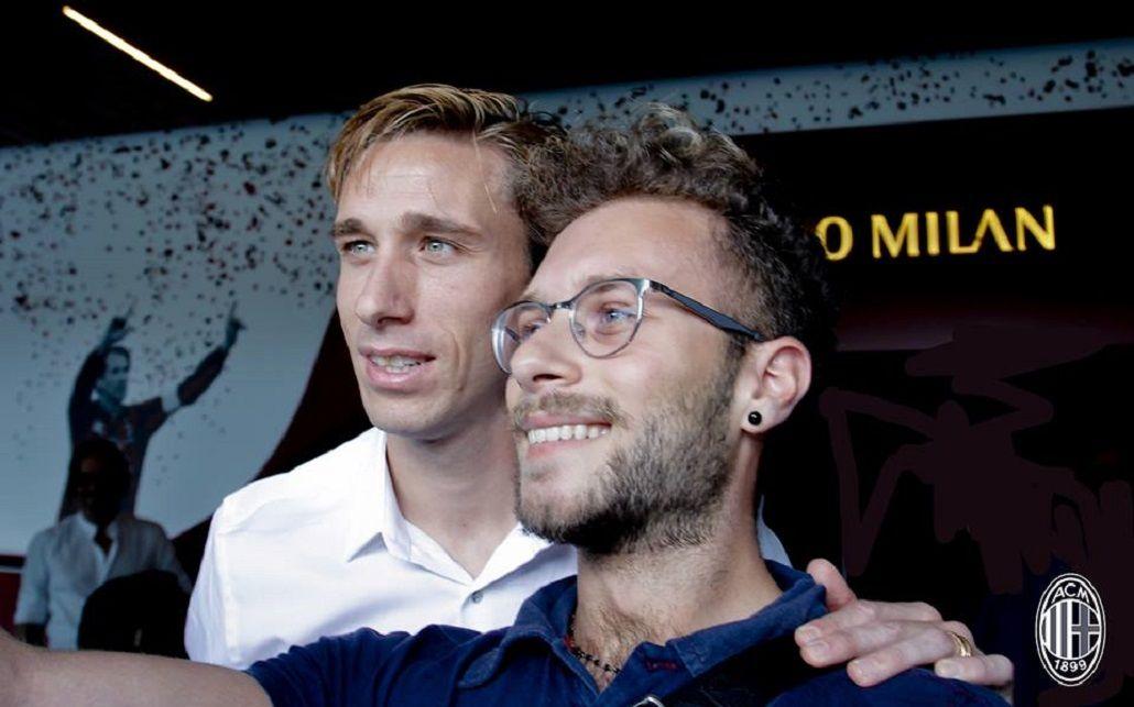 El increíble mensaje de Lucas Biglia a los hinchas del Milan: Forza Lazio
