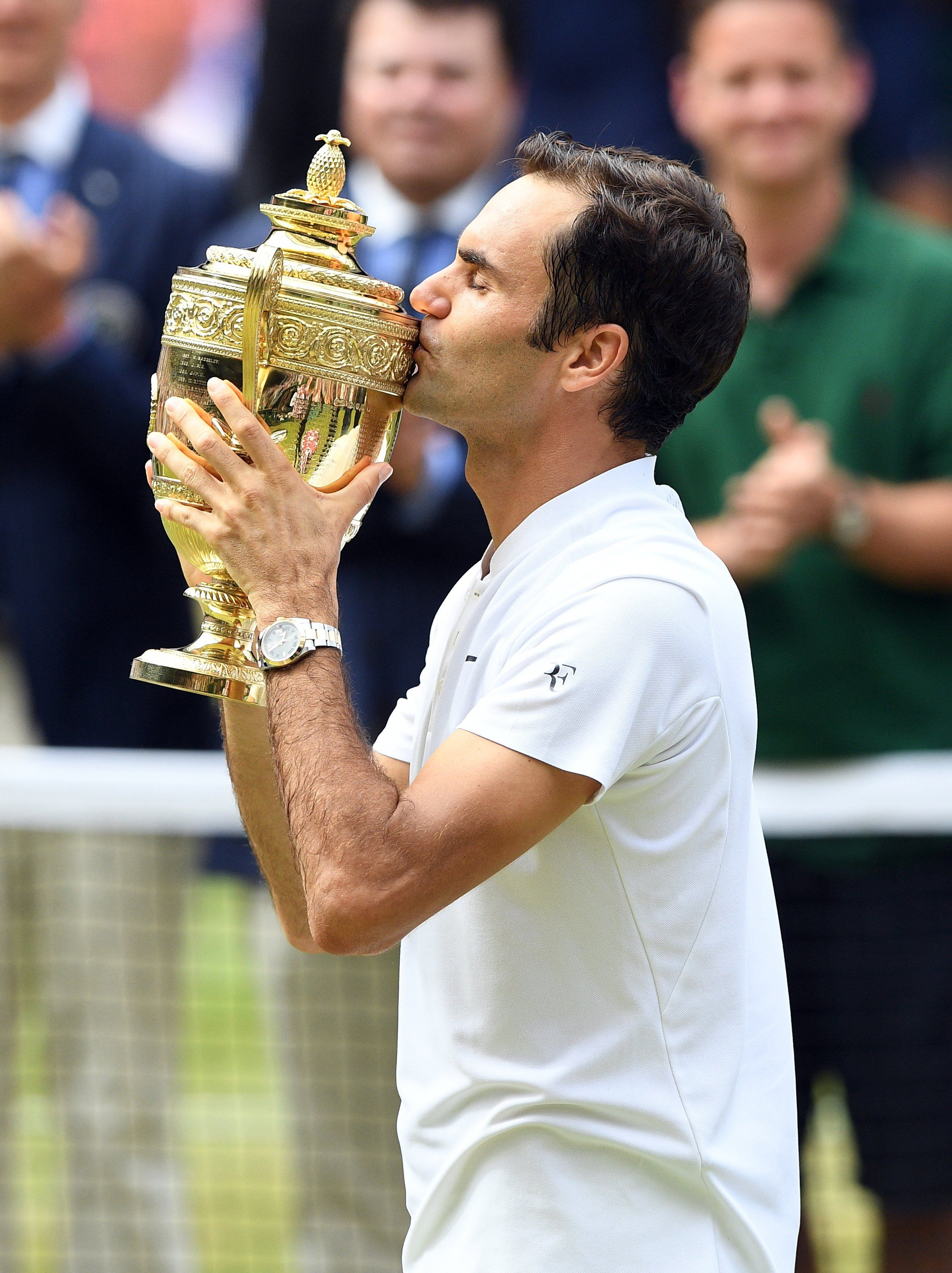 Roger Federer volvió a ganar Wimbledon