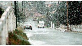 El temporal de nieve ya tocó la Provincia y... ¿llegará a la Ciudad?