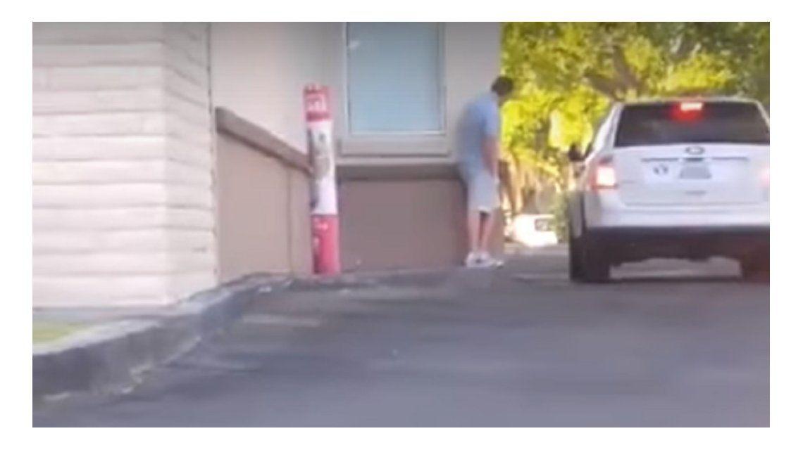 Se robó un pedido de comida rápida