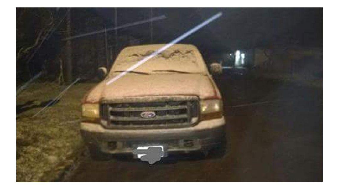 Nieve en Bahía Blanca - Crédito:@santa_roberto