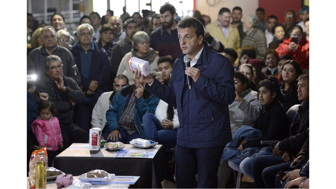 Massa estuvo de campaña en José C. Paz