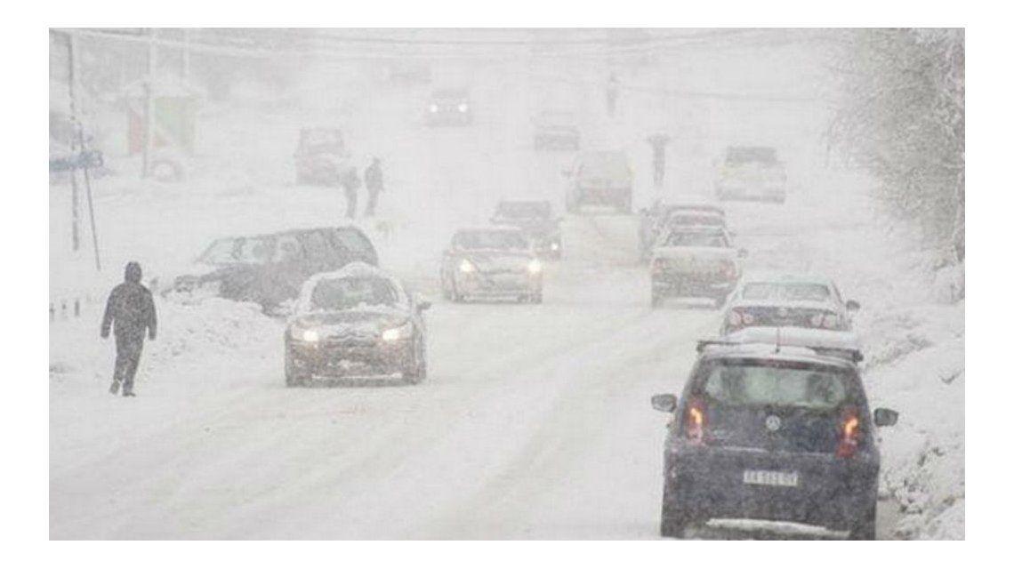 Así fue el temporal de nieve en la Patagonia